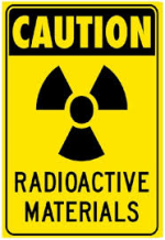 Caution: radioactive materials